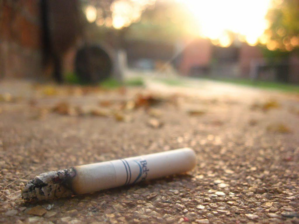Jogar bituca de cigarro nas ruas de São paulo pode gerar multa
